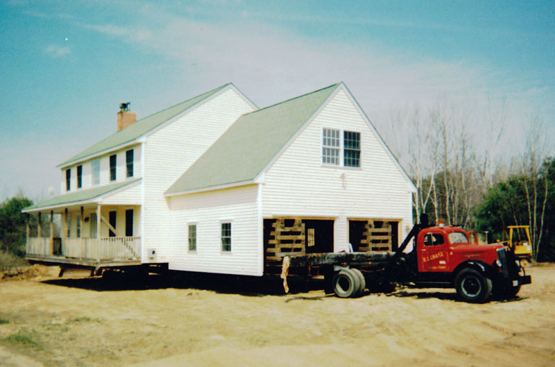 Services chase building movers maine new hampshire for Building a house in maine