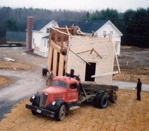 building relocation truck